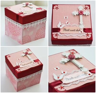 Marby ustvarja: Darilna škatlica za birmanko