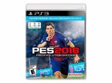 juego ps3 pro evolution soccer 2018 edicion premium