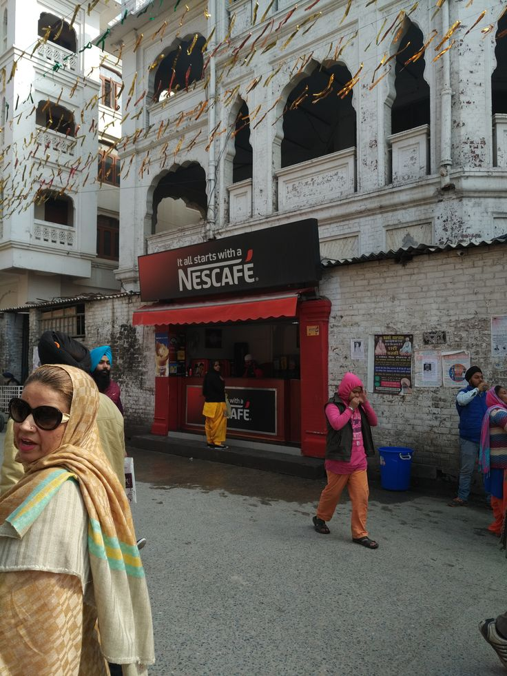 Nescafe anyone.  They always stand out.