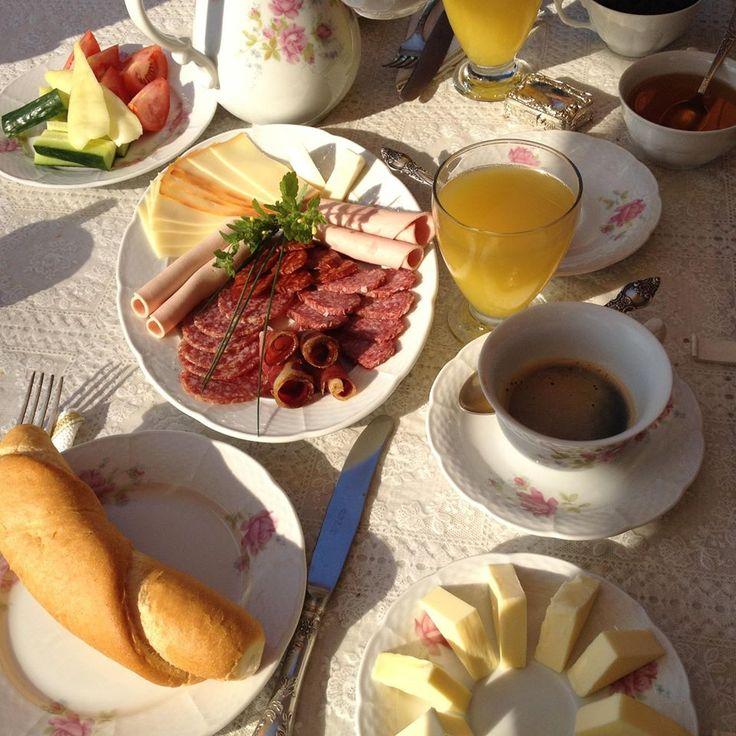 Breakfast - Reggeli - Bacchus - Badacsony - Lake Balaton - Hungary