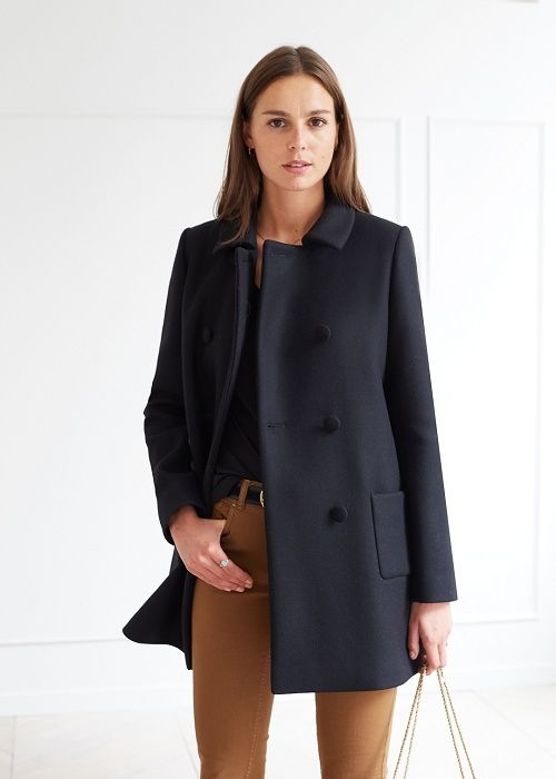Manteau Andy - Lookbook Automne Hiver  - www.sezane.com  #sezane #manteau #andy #lookbook
