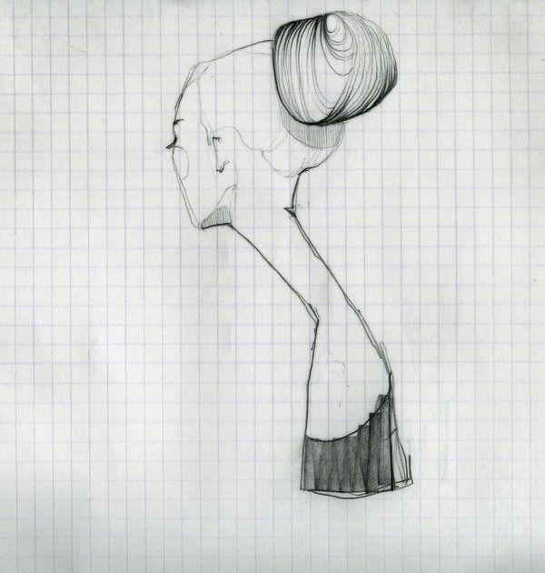 Sketches by Ekaterina Koroleva, via Behance