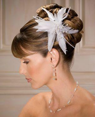 fotos de hermosos peinados recogidos para novias u