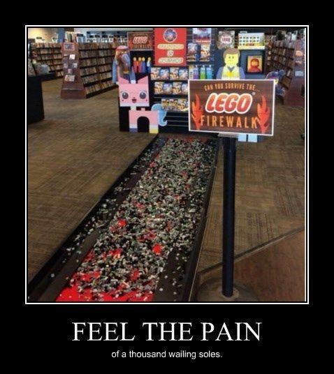 Haha! :)  Worse Than Fire?