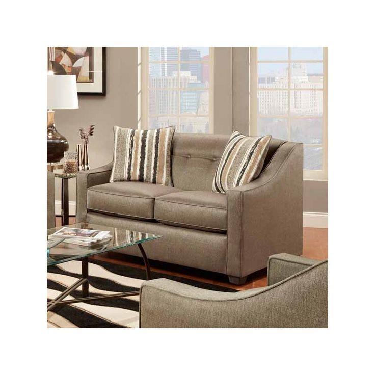 Elegant Mason Loveseat | Weekends Only Furniture And Mattress