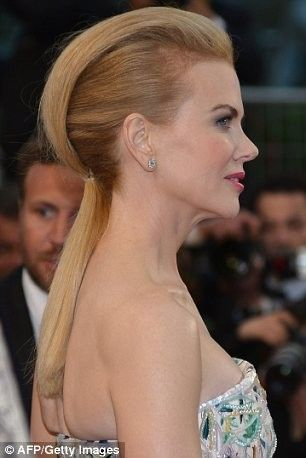 Nicole Kidman Styled Her Hair In a Quiff at the 66th Cannes Film Festival //  #66th #Cannes #Festival #Film #Hair #Kidman #Nicole #Quiff #styled