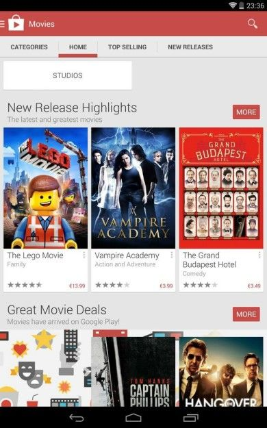 Play Movies Now Showing In Ireland