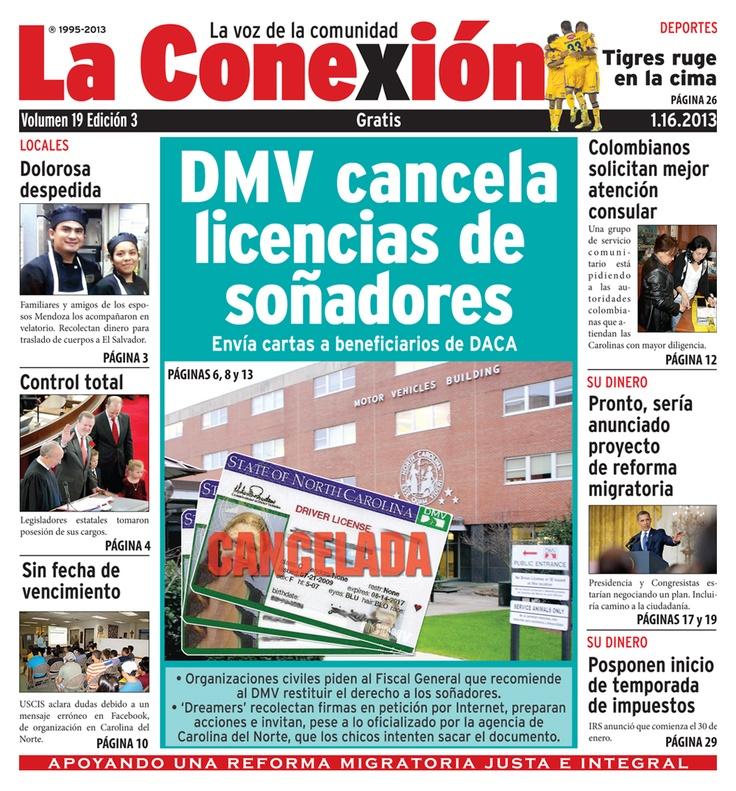 La Conexion, Spanish language newspaper