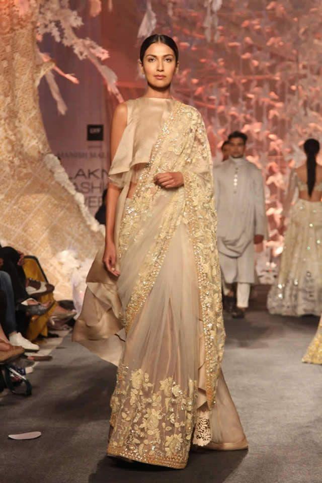 2016 Manish Malhotra Latest Winter Dresses collection Gallery