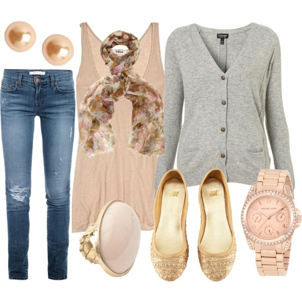 """""""Rose Gold"""" by qtpiekelso on Polyvore"""