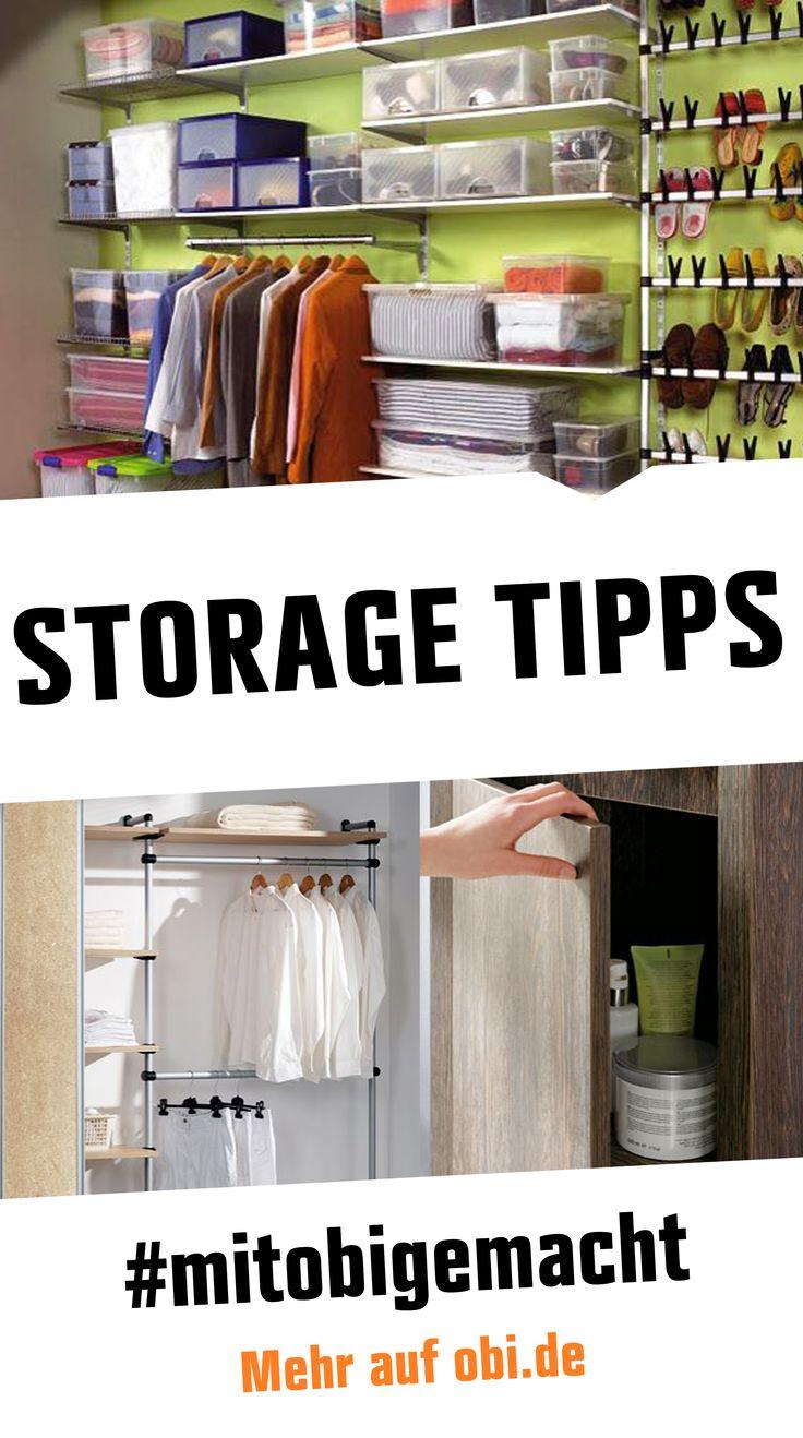 114 best Aufbewahrungs-Tipps / Storage images on Pinterest   Bedroom ...