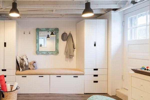 die besten 25 flur gestalten ideen auf pinterest kleine. Black Bedroom Furniture Sets. Home Design Ideas