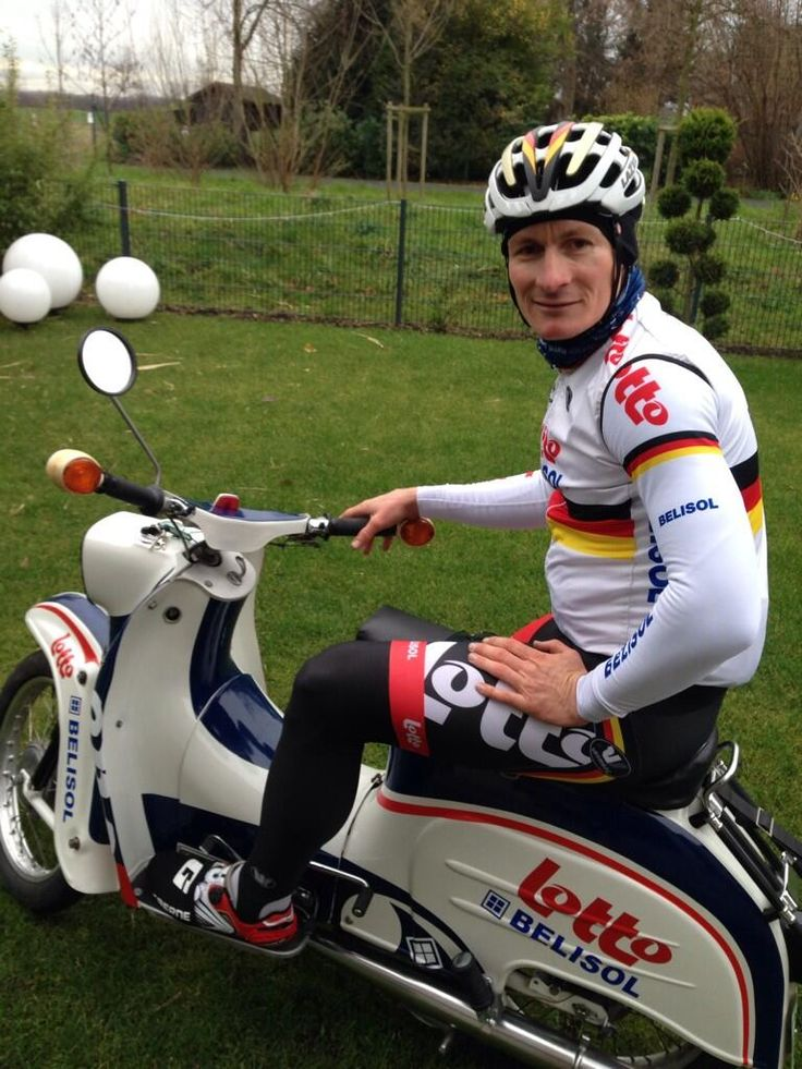Andy Greipel's spare bike for the mountains