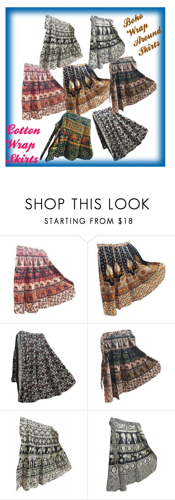 Bohemian Women's Cotton Wrap Around Skirts by baydeals on Polyvore  http://stores.ebay.com/mogulgallery/Wrap-Skirt-/_i.html?_fsub=678282119&_sid=3781319&_trksid=p4634.c0.m322