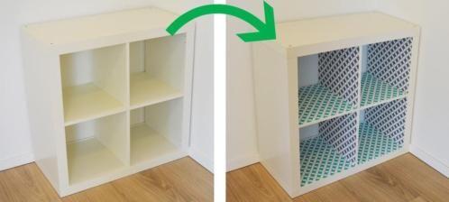 Personaliseer Jouw Ikea Kallax Kastje Met Plakfolie