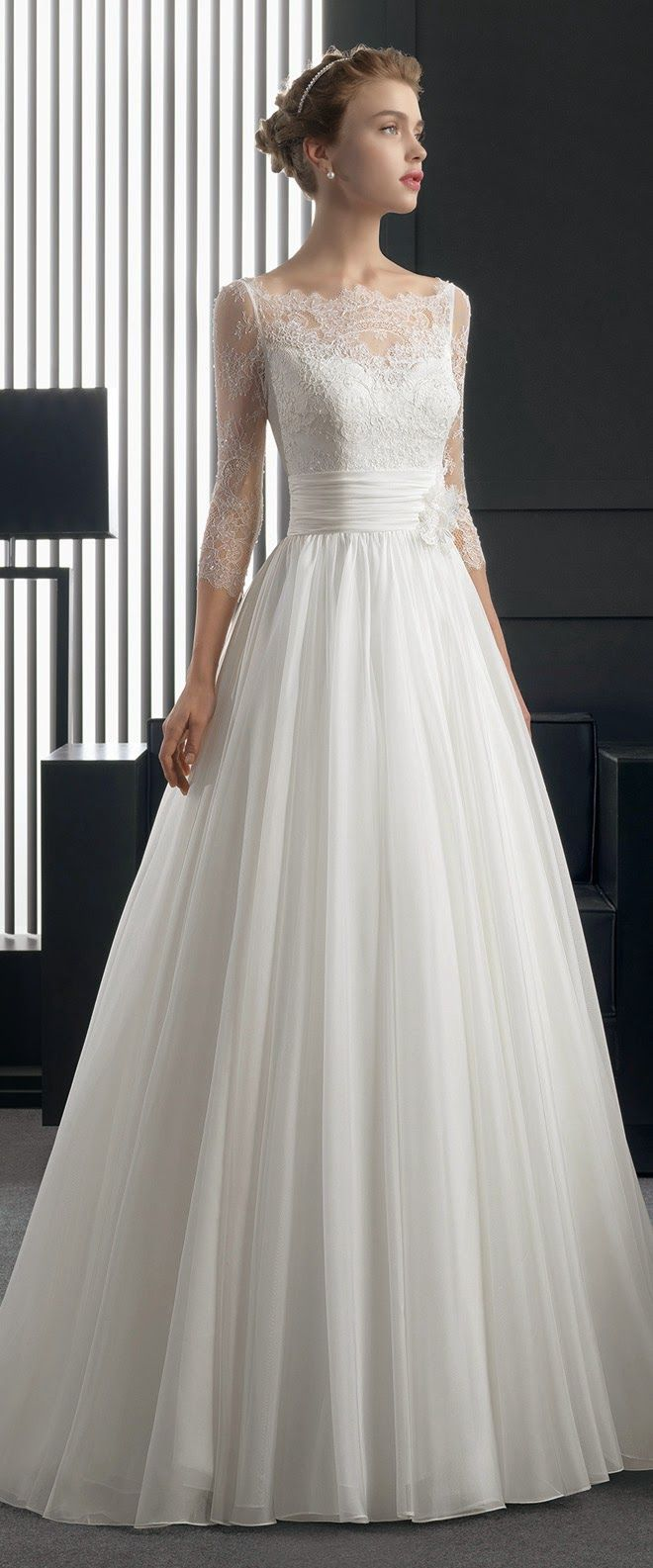 Perfection. Two by Rosa Clara 2015 Bridal Collection. | bellethemagazine.com