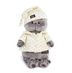Кот Басик в пижаме мягкая игрушка - купить в интернет-магазине Киндерама