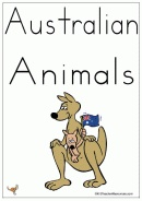 Australian Animals - 20 Words And Picture Cards - K-3 Teacher Resources.  Love this site-heaps of resources and teaching ideas.