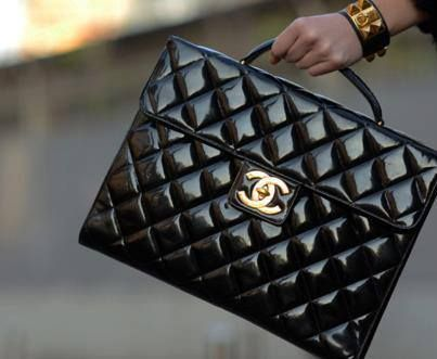 Chanel quilted structured
