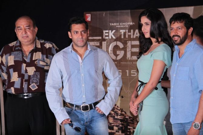 Pakistan may have restricted its cable operators from screening promos and reviews of the upcoming Salman Khan starrer Ek Tha Tiger but director Kabir Khan clarified once again that the film isn't anti-Pakistan.