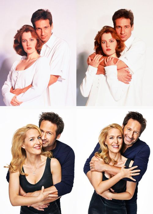 Gillian Anderson David Duchovny - how there relationship has grown over many years