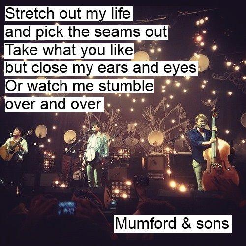 165 best Mumford and Sons images on Pinterest | Lyrics ...