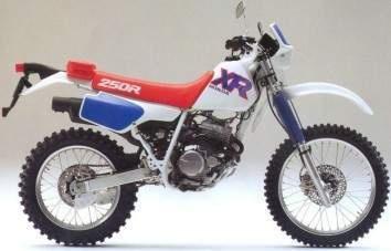 1992 Honda XR 250 R