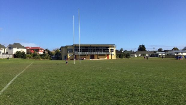 The condition of the schoolboy, who was knocked out in a post-match rugby brawl, has improved.