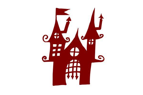 Хэллоуин-преследовало-замок-дом-2