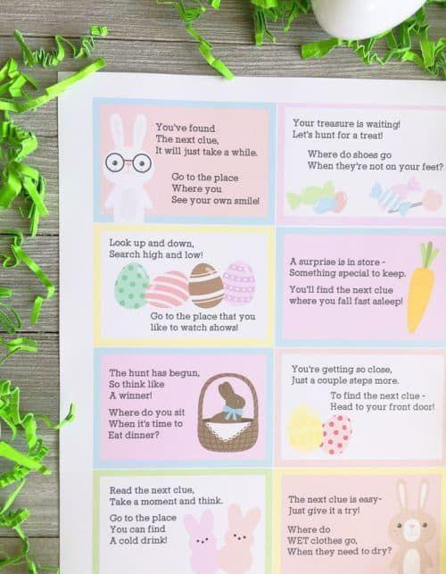 Printable Scavenger Hunt for Kids – Seasonal Game Downloads #FrugalCouponLiving …   – Kiddos