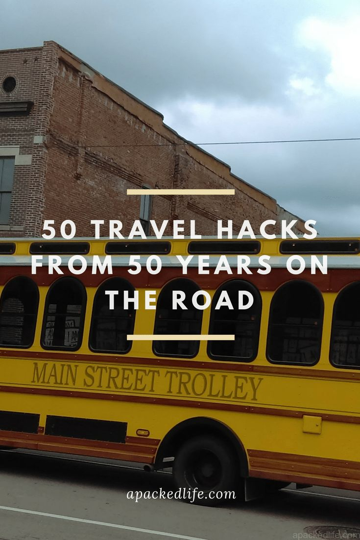 50 Travel Hacks from 50 years of Travel by road, rail, sea and air - Pic:  Main Street Trolley, Memphis