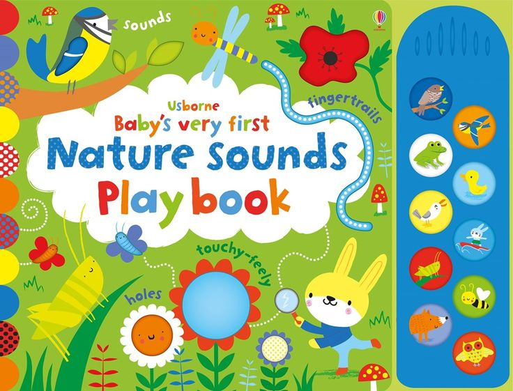 "Find out more about ""Baby's very first nature sounds playbook"", write a review or buy online."