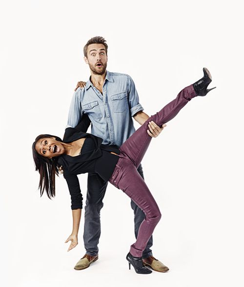 Sleepy Hollow's Tom Mison & Nicole Beharie