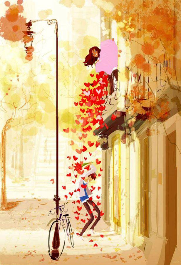 """Cantinho da Ro.: E para hoje... Passos apressados por onde falta amor, passos firmes por onde a coragem nos guia, passos confiantes por onde a fé nos leva, passos leves quando o amor nos toca. E para todo o resto, um passo de cada vez. """" -------------* Rosi Coelho"""
