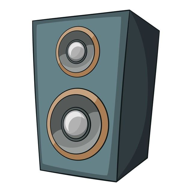 Music Speaker Icon Cartoon Style Music Icons Speaker Icons Style Icons Png And Vector With Transparent Background For Free Download Music Speakers Cartoon Styles Music Logo Design