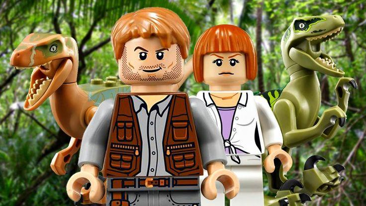 Lego Jurassic World.Питомник Динозавра.Игры и Мультики про Динозавров.Па...