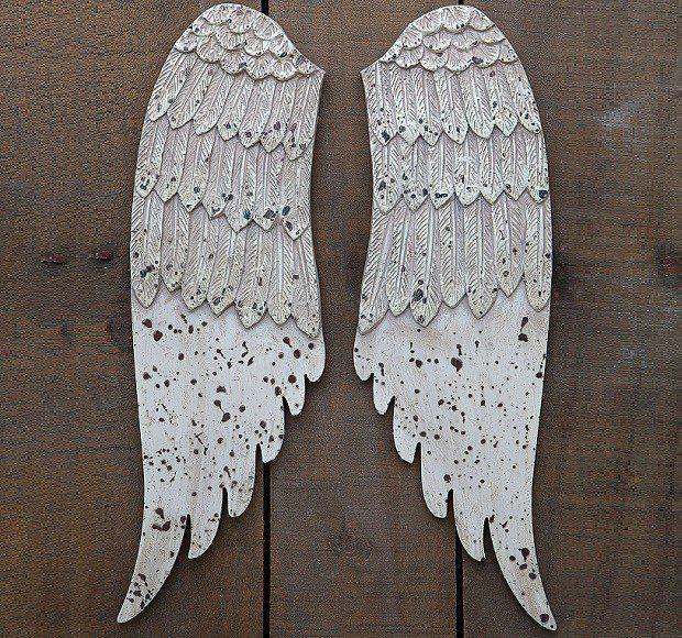 Exquisite Wooden Angel Wings Part 70