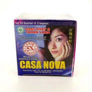 Obat Kuat Tahan Lama Casa Nova 5x Lebih Dahsyat
