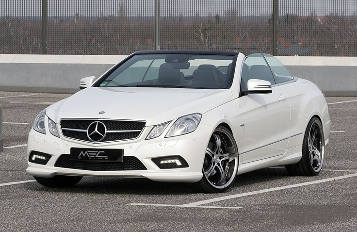 Mercedes-Benz E350 CDI Cabriolet by MEC Design is Perfect for Summer full Satin black 1