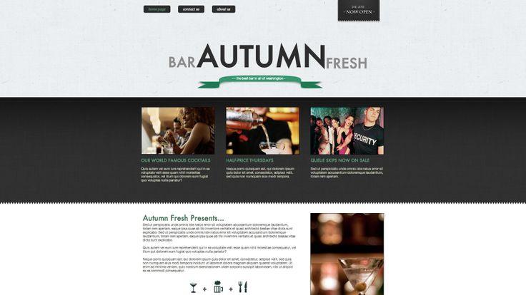 Diseño web sector hosteleria,bares ,restaurantes