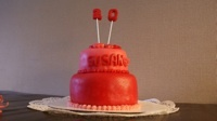 Cake for Susan (20years birthday cake)