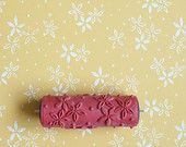 Patterned Paint Roller No.11 from Paint & by patternpaintrollers