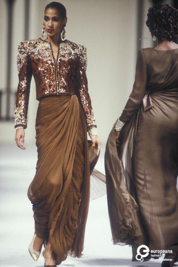 Valentino, Autumn-Winter 1989, Couture on www.europeanafashion.eu