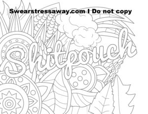 Get Your Swear Word Adult Coloring Book And Free Pages Here
