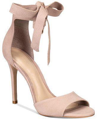 ALDO Belidda Two-Piece Bow Sandals - Heels - Shoes - Macy's
