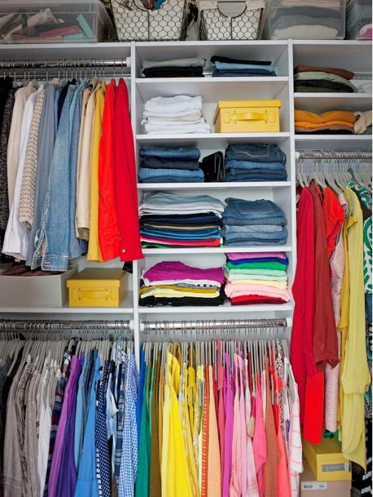 closet organization idea - Home and Garden Design Idea's