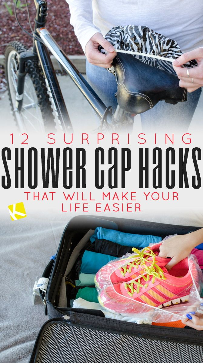 12 Surprising Shower Cap Hacks That Will Make Your Life Easier