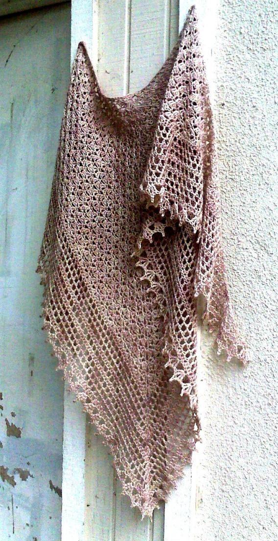 PDF pattern crochet shawl Recuerdos de infancia by 7Knits