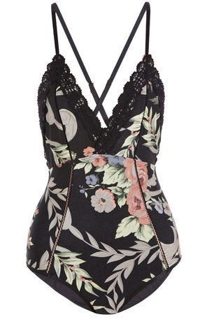 Keeper Lace Swimsuit #floral