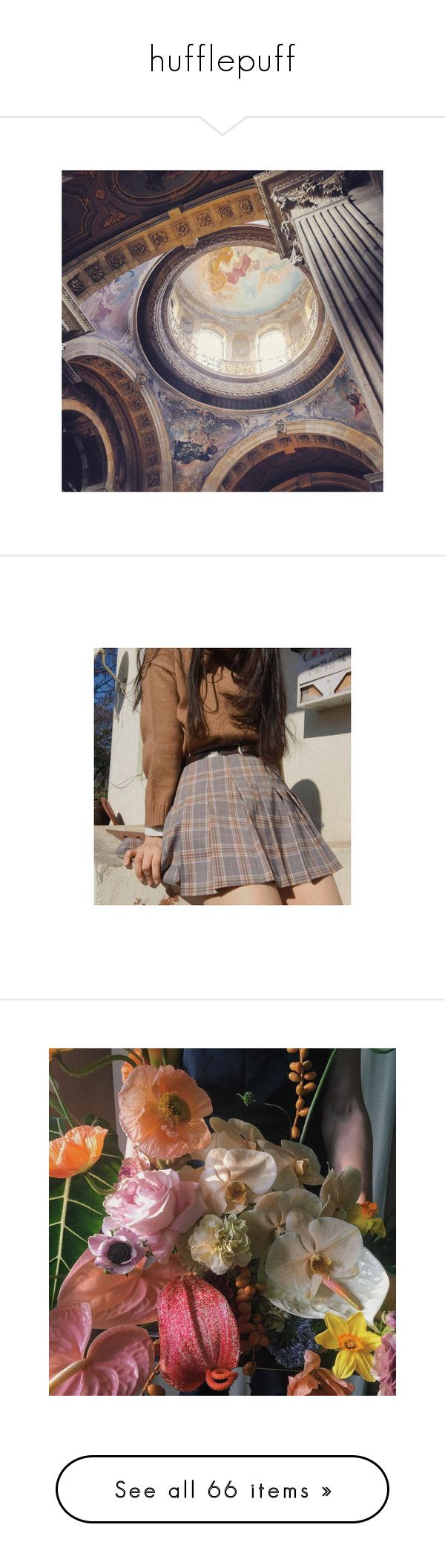 """""""hufflepuff"""" by macamacarron ❤ liked on Polyvore featuring pictures, pics, backgrounds, photos, image, images, filler, underwear, tops and wands"""